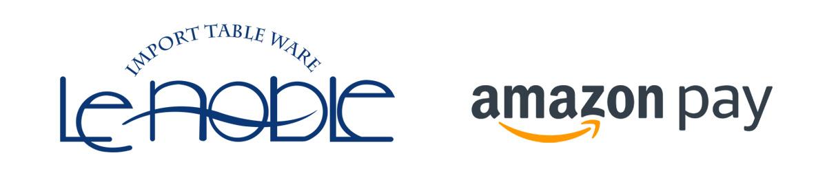ル・ノーブルとアマゾンPayロゴ